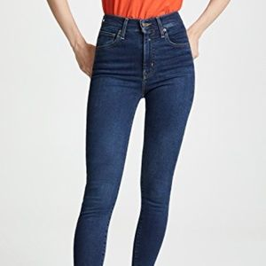 LEVIS MILE HIGH SUPER SKINNY ON THE RISE JEANS 32